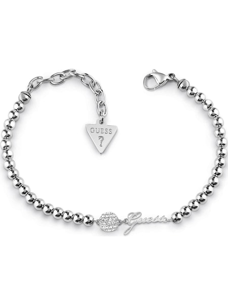 Armbaender für Frauen - GUESS Armband 'Pave' silber  - Onlineshop ABOUT YOU