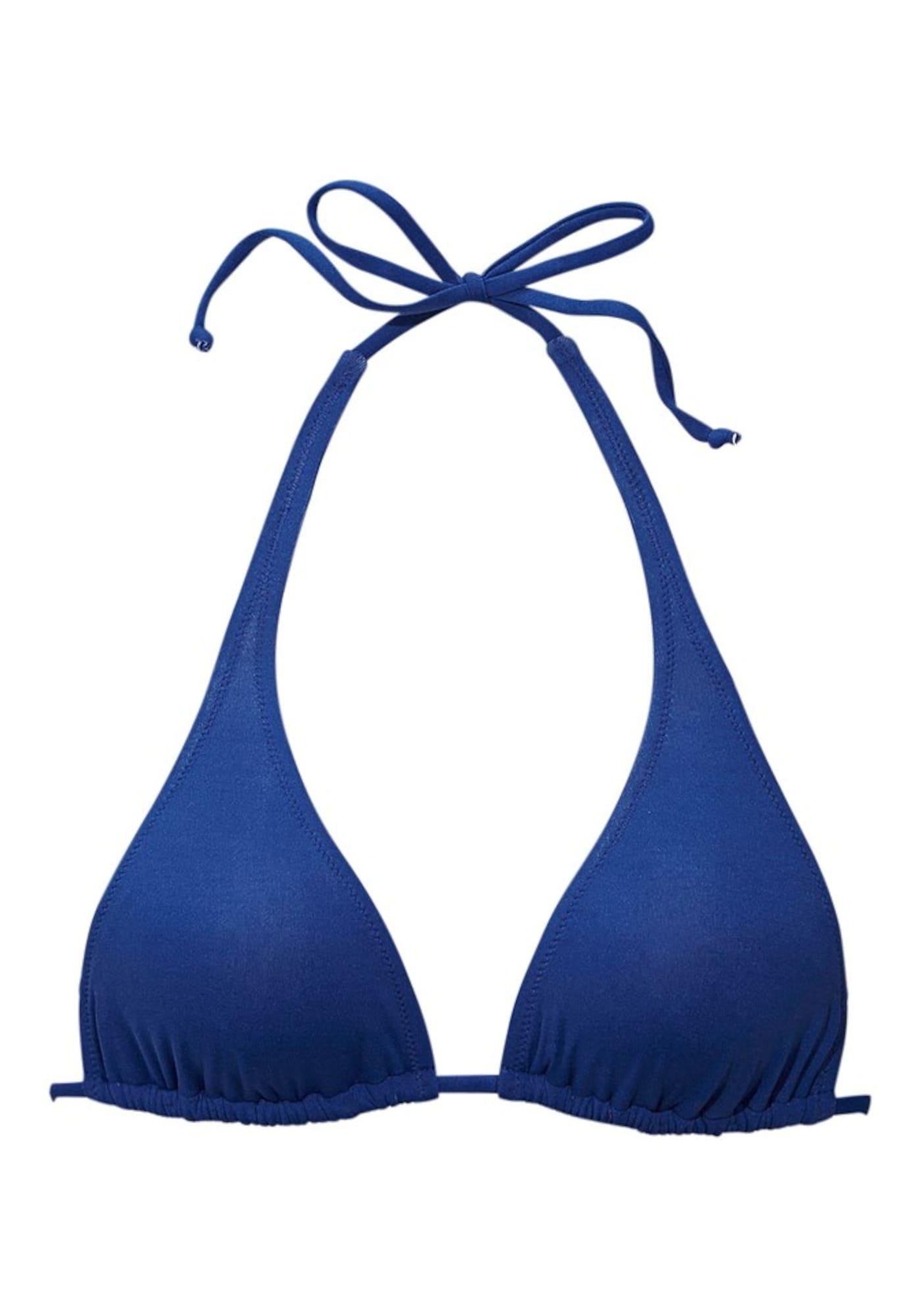BUFFALO Bikinio viršutinė dalis 'Happy' mėlyna