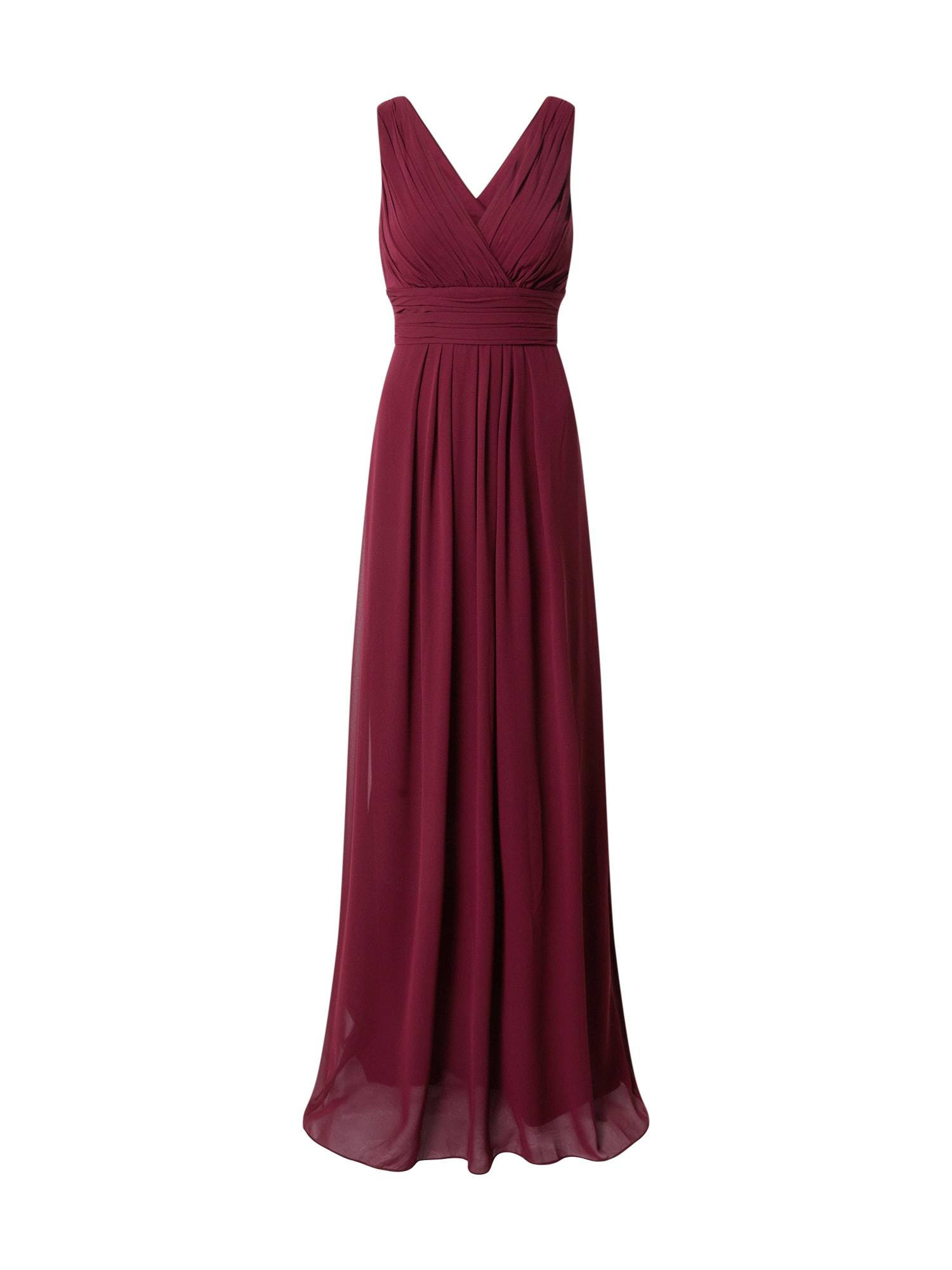 STAR NIGHT Suknelė vyno raudona spalva
