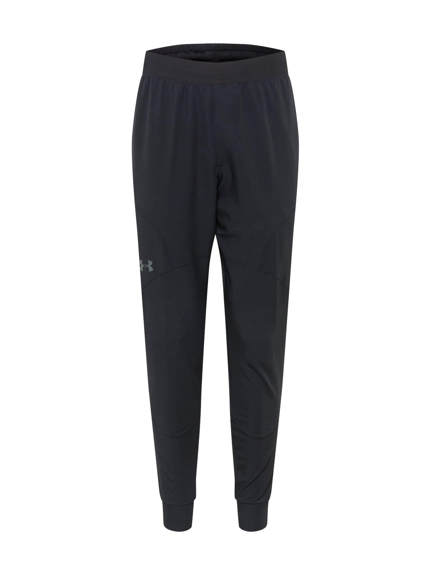UNDER ARMOUR Športové nohavice 'Unstoppable'  čierna