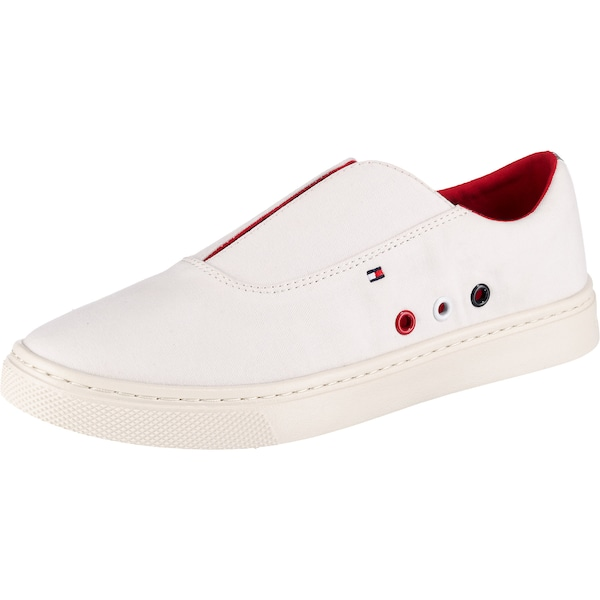 Sneakers für Frauen - Sneakers Low › Tommy Hilfiger › rot weiß  - Onlineshop ABOUT YOU