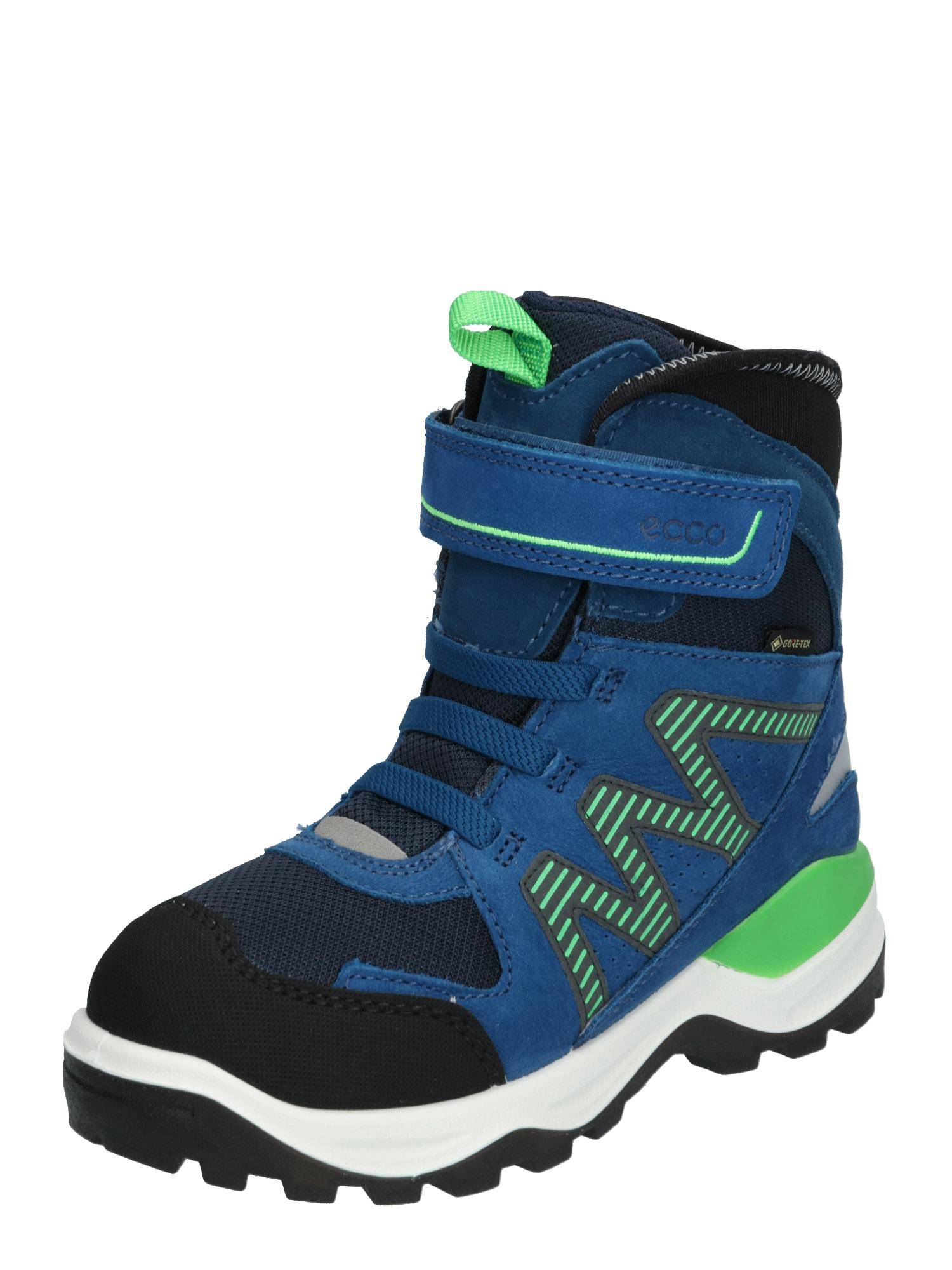 ECCO Atviri batai 'Snow Mountain BlackPoseidonPoseidon' mėlyna