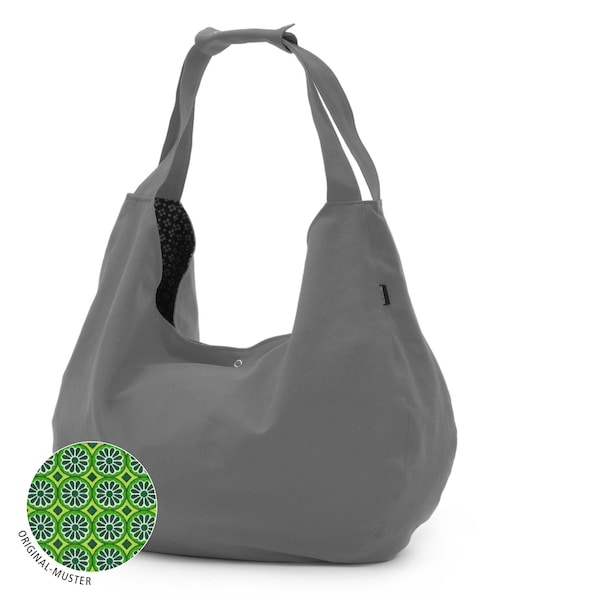 Sporttaschen für Frauen - YOGISTAR.COM Yogatasche 'Active Maxi Big Cotton' grau  - Onlineshop ABOUT YOU