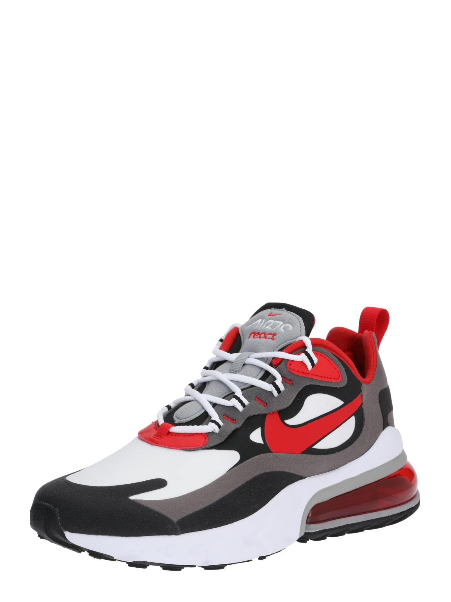 Nike Sportswear Sportbačiai be auliuko 'Air Max 270 React' raudona / balta / juoda