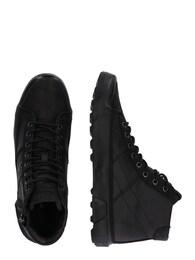 - REPLAY Herren Sneaker mit Schnürung und Reißverschlüssen schwarz   08056741786316