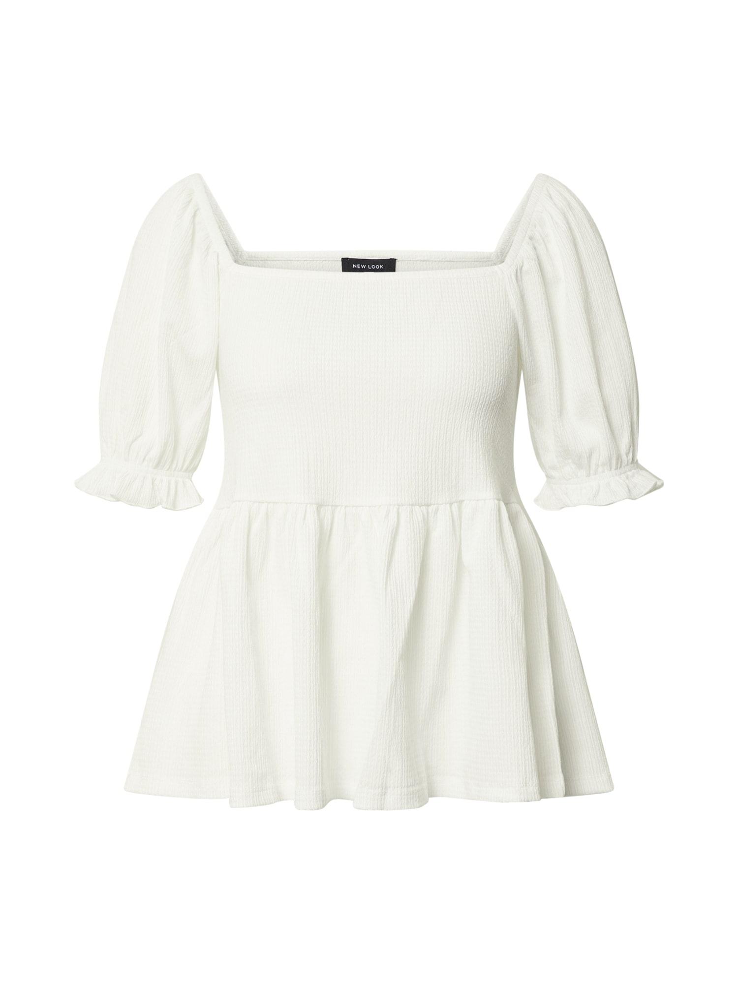 NEW LOOK Marškinėliai balta