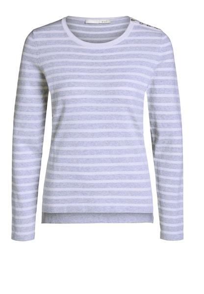 Oberteile für Frauen - OUI Pullover grau weiß  - Onlineshop ABOUT YOU