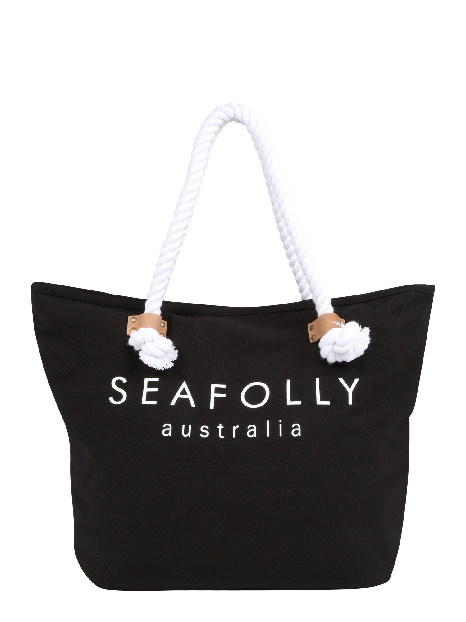 Plážová taška černá Seafolly