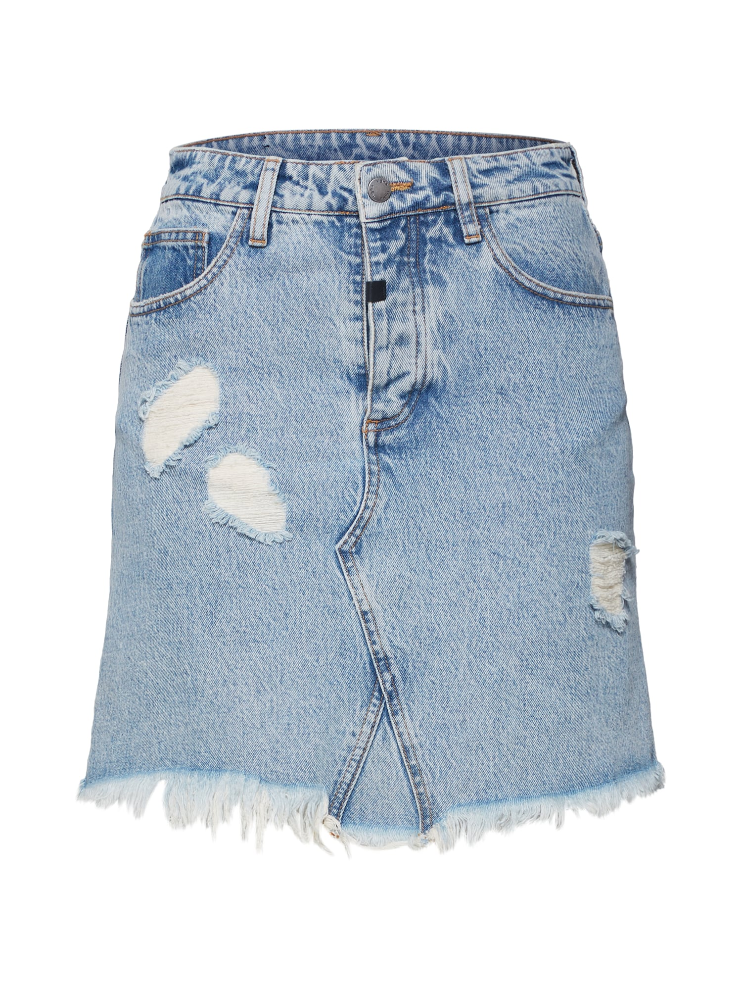 tigha Sukňa 'Edda 1036 ripped'  modrá denim