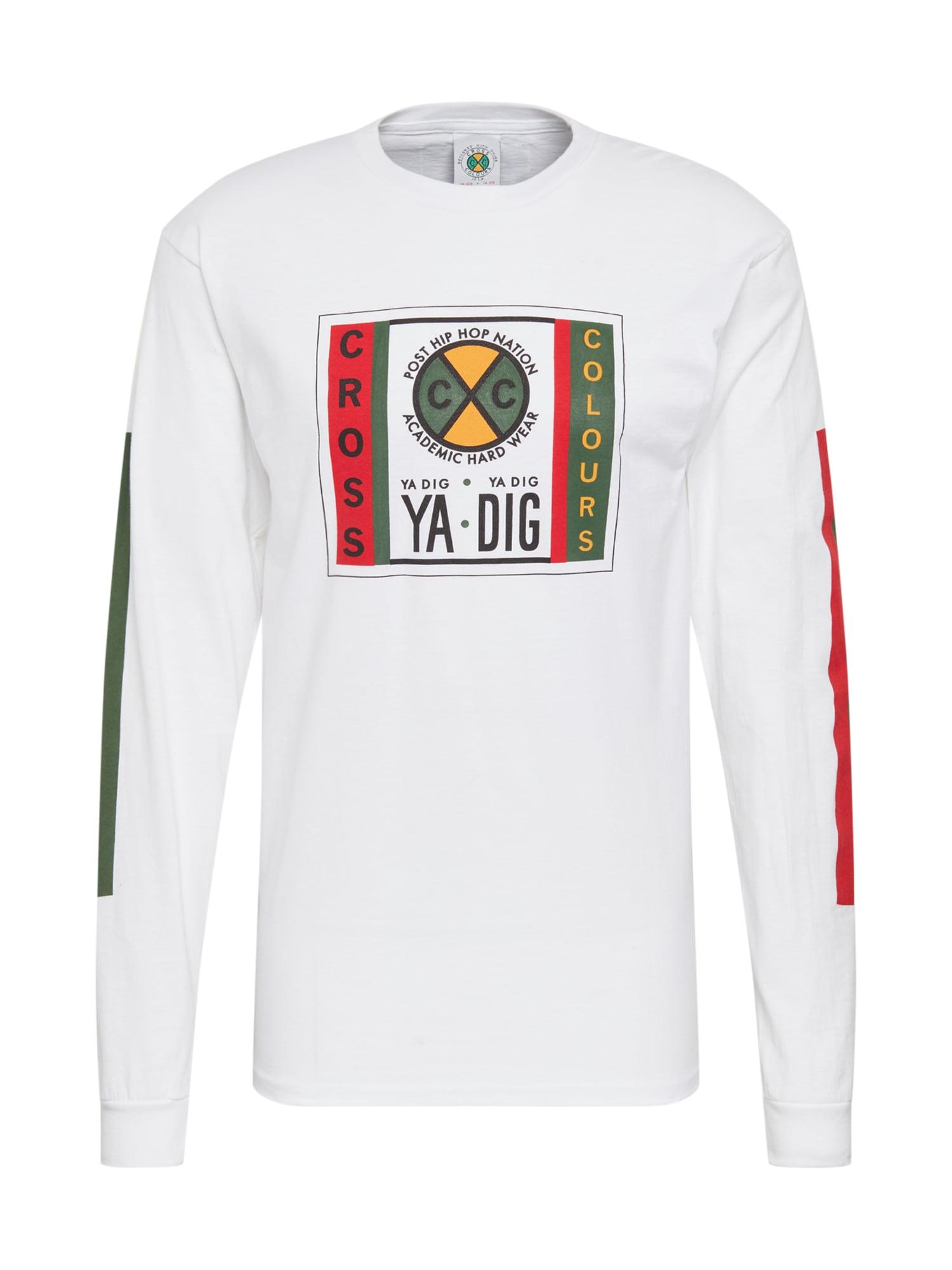 CROSS COLOURS Marškinėliai 'Ya Dig Long' balta