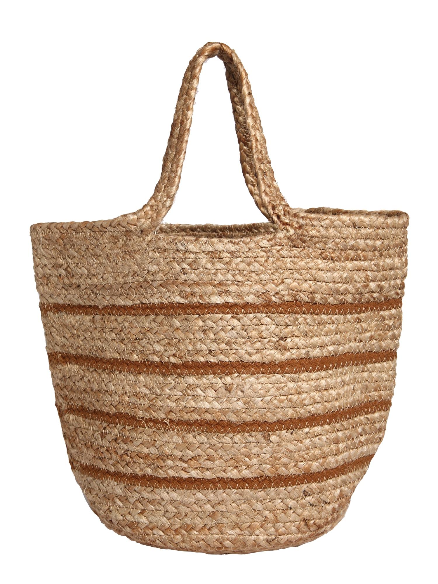 Samsoe Samsoe Paplūdimio krepšys ruda / smėlio