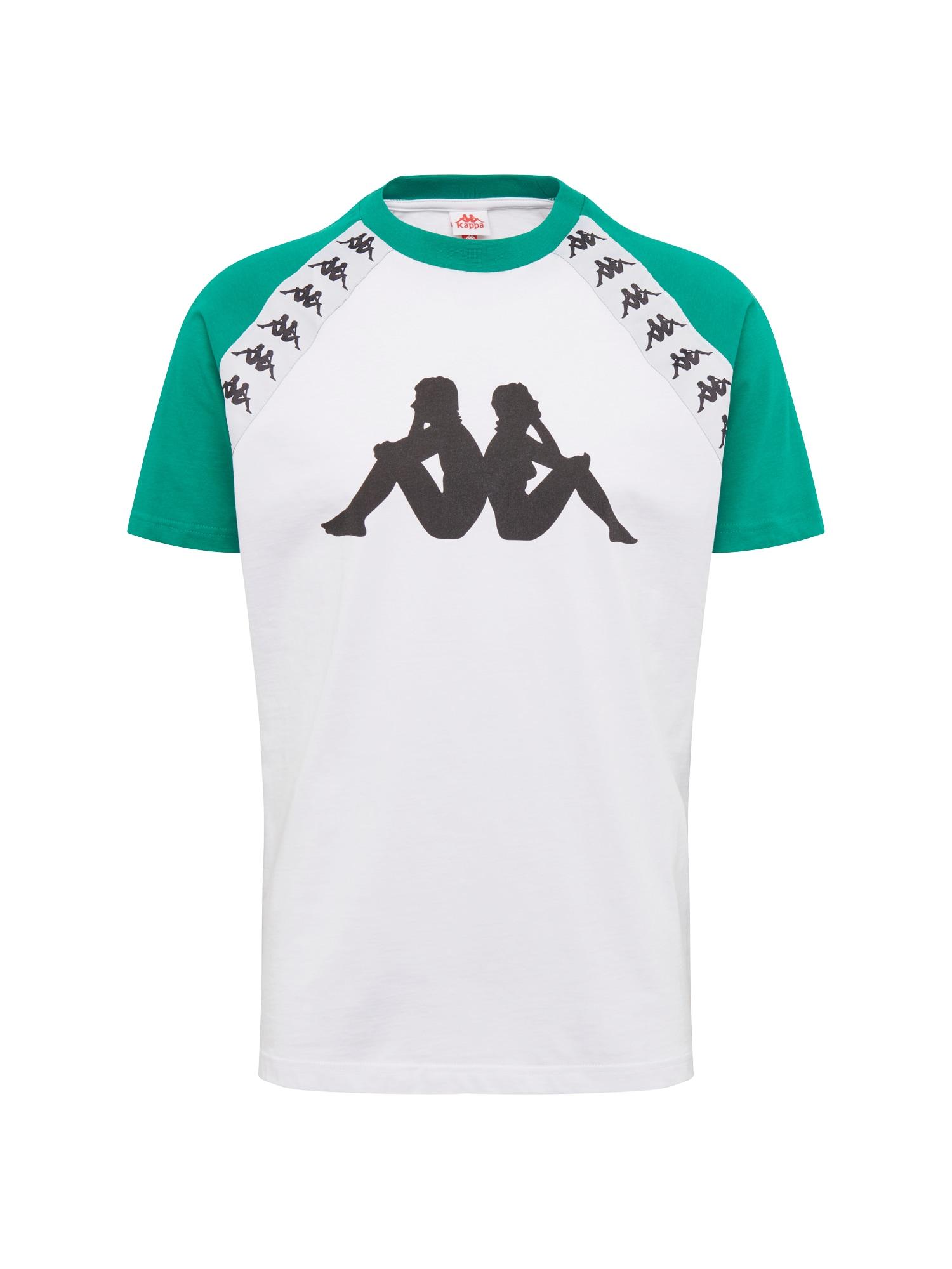Tričko Banda Bardi tmavě zelená černá bílá KAPPA