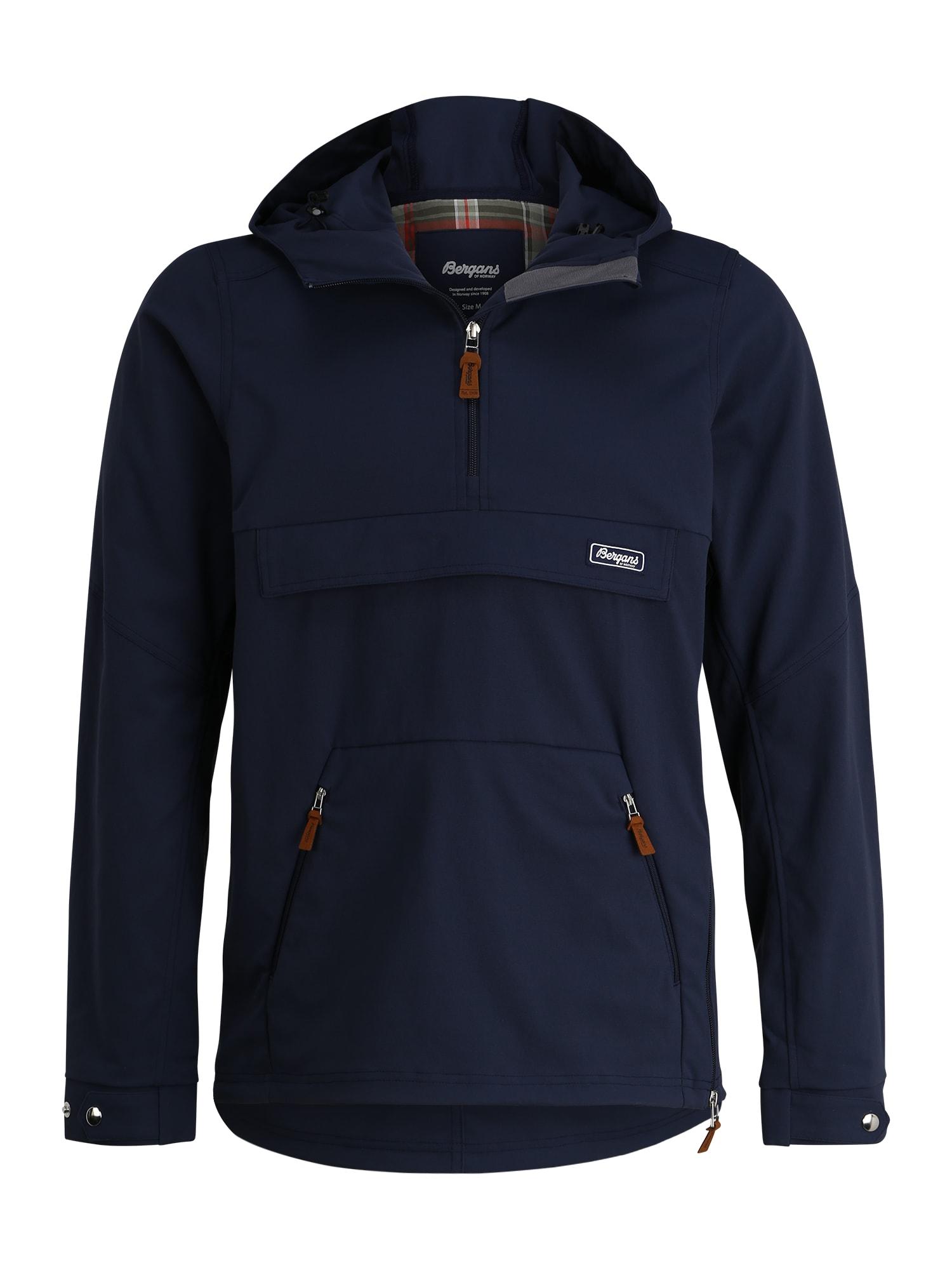 Bergans Sportinė striukė 'Nordmarka' tamsiai mėlyna