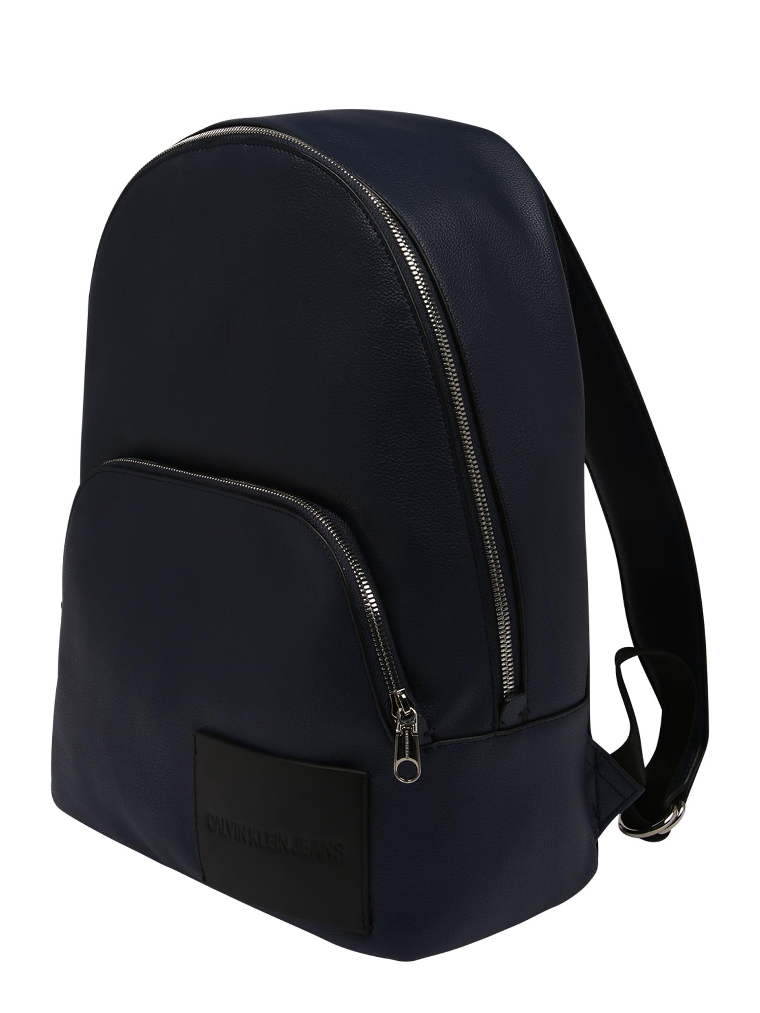 Calvin Klein Jeans Kuprinė 'MICRO PEBBLE CAMPUS' tamsiai mėlyna