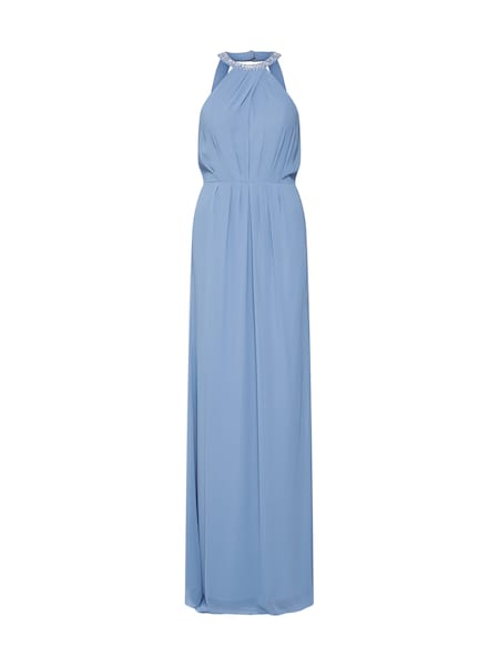 Festtagsmode für Frauen - STAR NIGHT Abendkleid 'long dress chiffon' hellblau  - Onlineshop ABOUT YOU