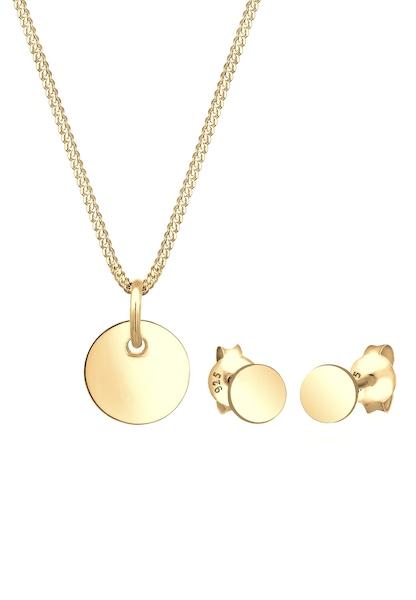 Schmucksets für Frauen - ELLI Schmuckset 'Kreis' gold  - Onlineshop ABOUT YOU