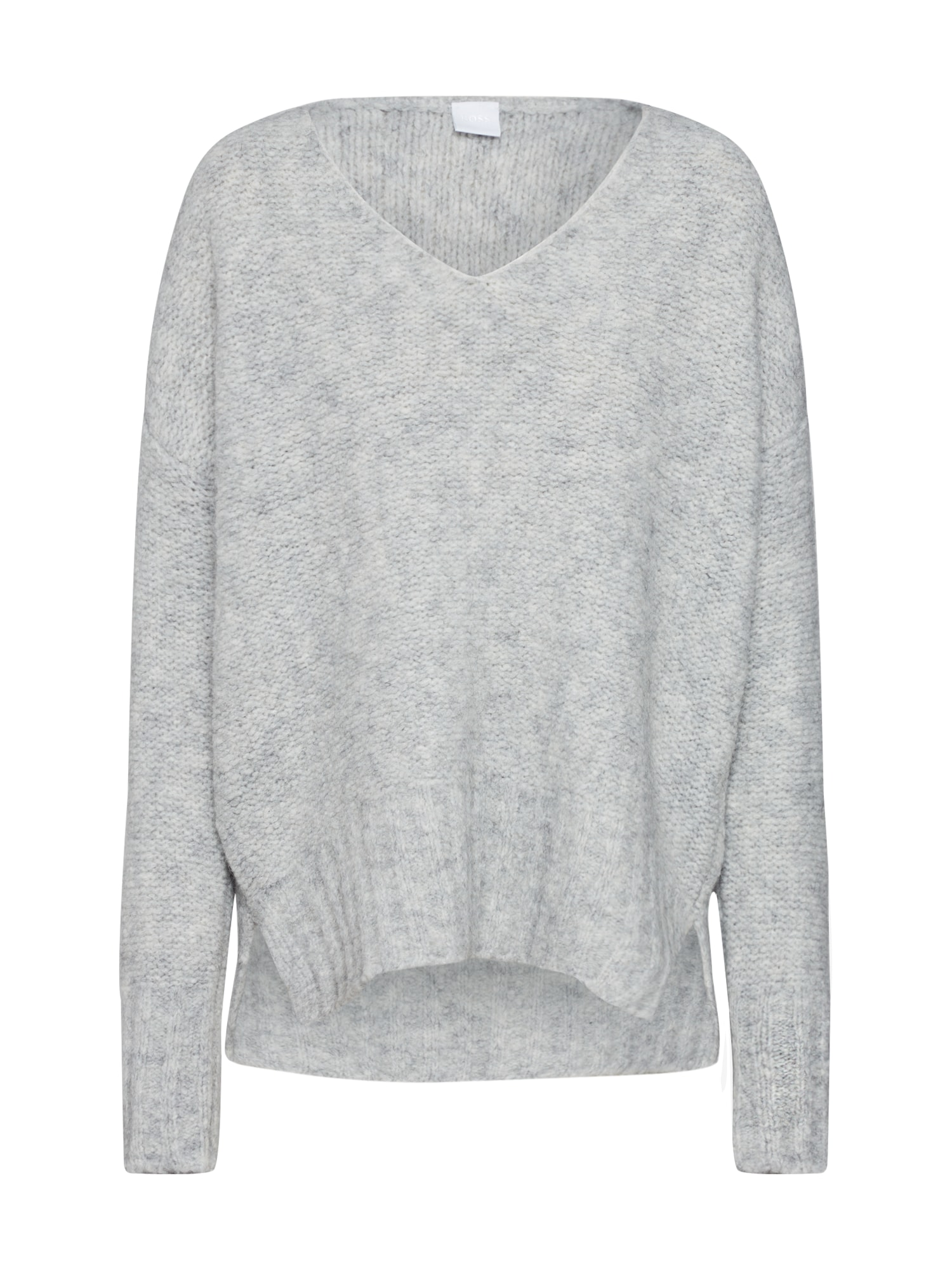 BOSS Megztinis 'Willallon' šviesiai pilka