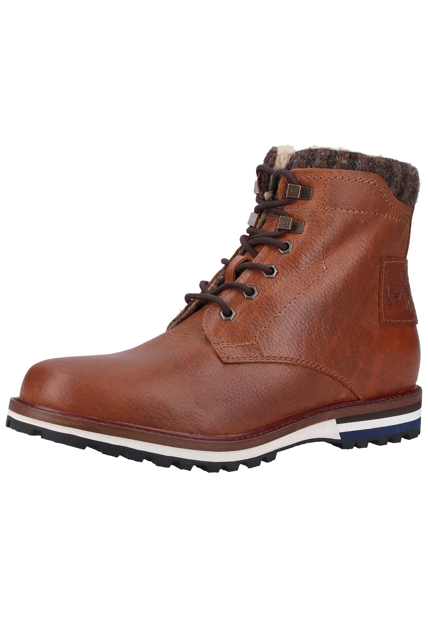 bugatti Sniego batai ruda