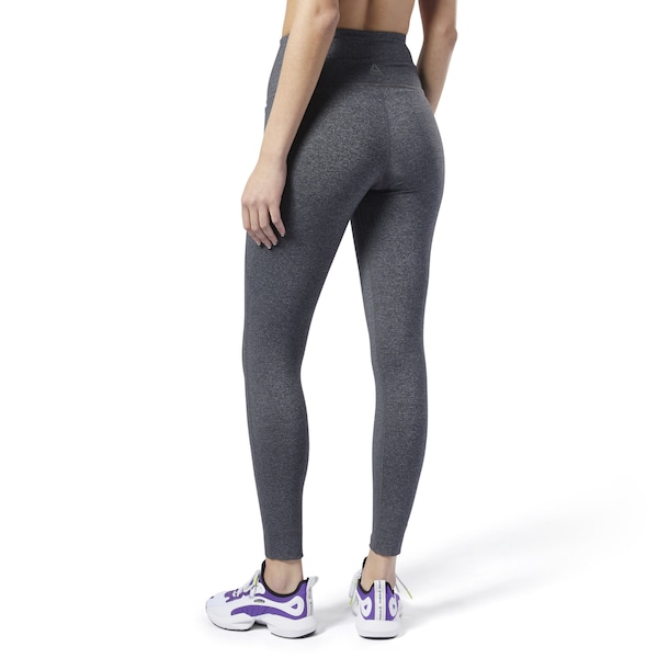 Hosen für Frauen - Sport Leggings 'Lux 2.0' › Reebok › graumeliert  - Onlineshop ABOUT YOU