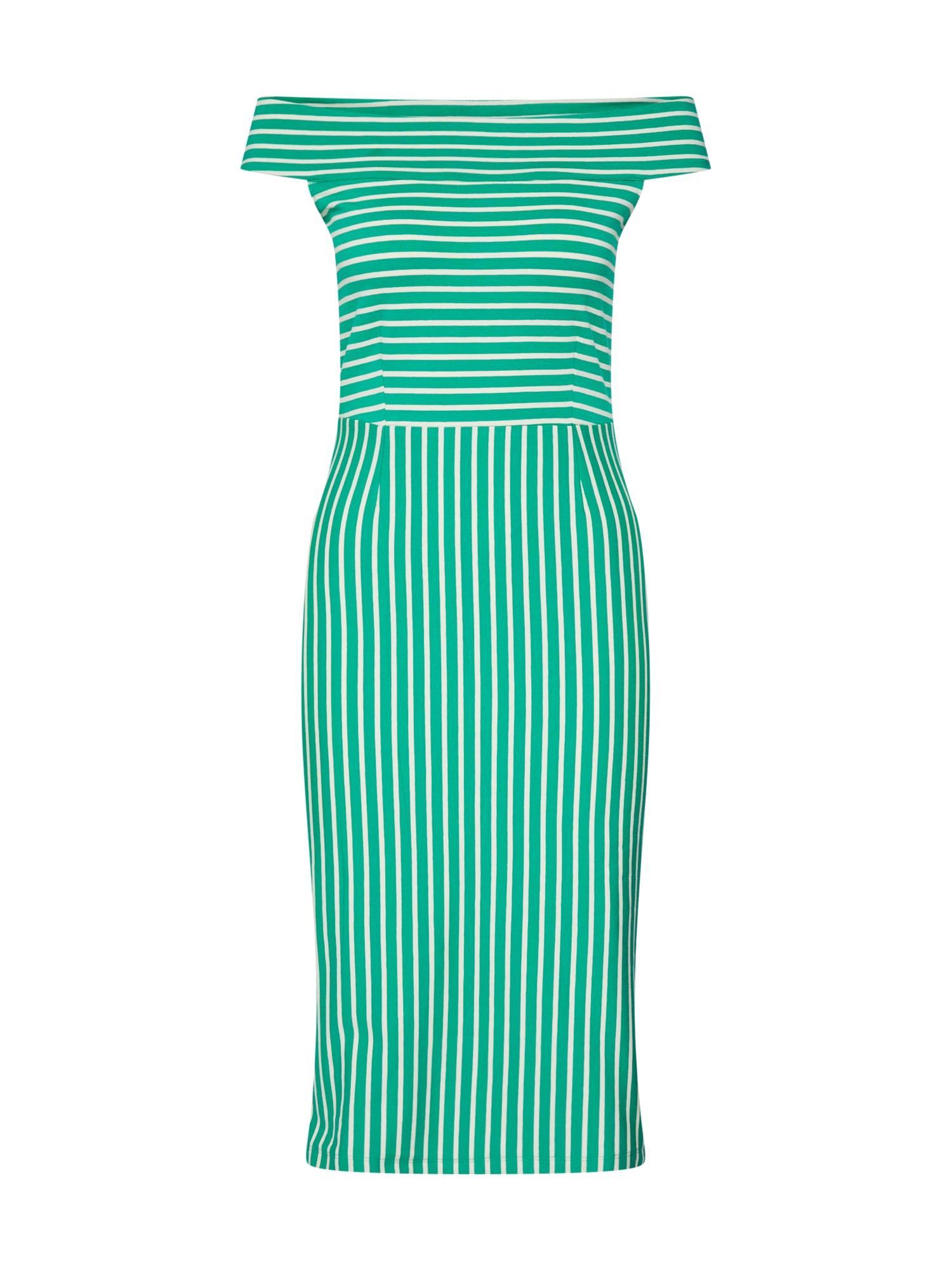 Letní šaty Iris béžová zelená King Louie