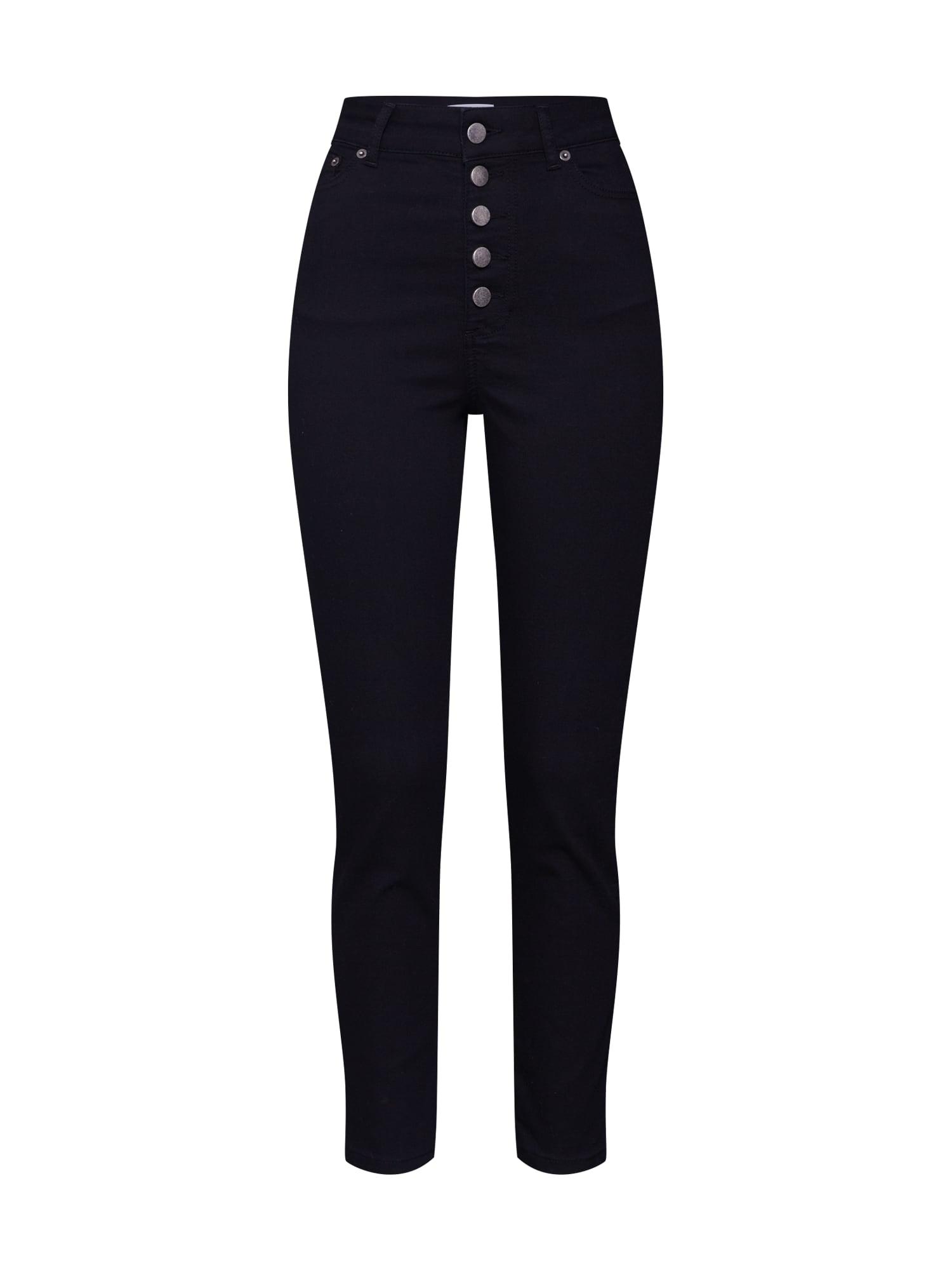 ABOUT YOU Džinsai 'Joaline Jeans' juodo džinso spalva