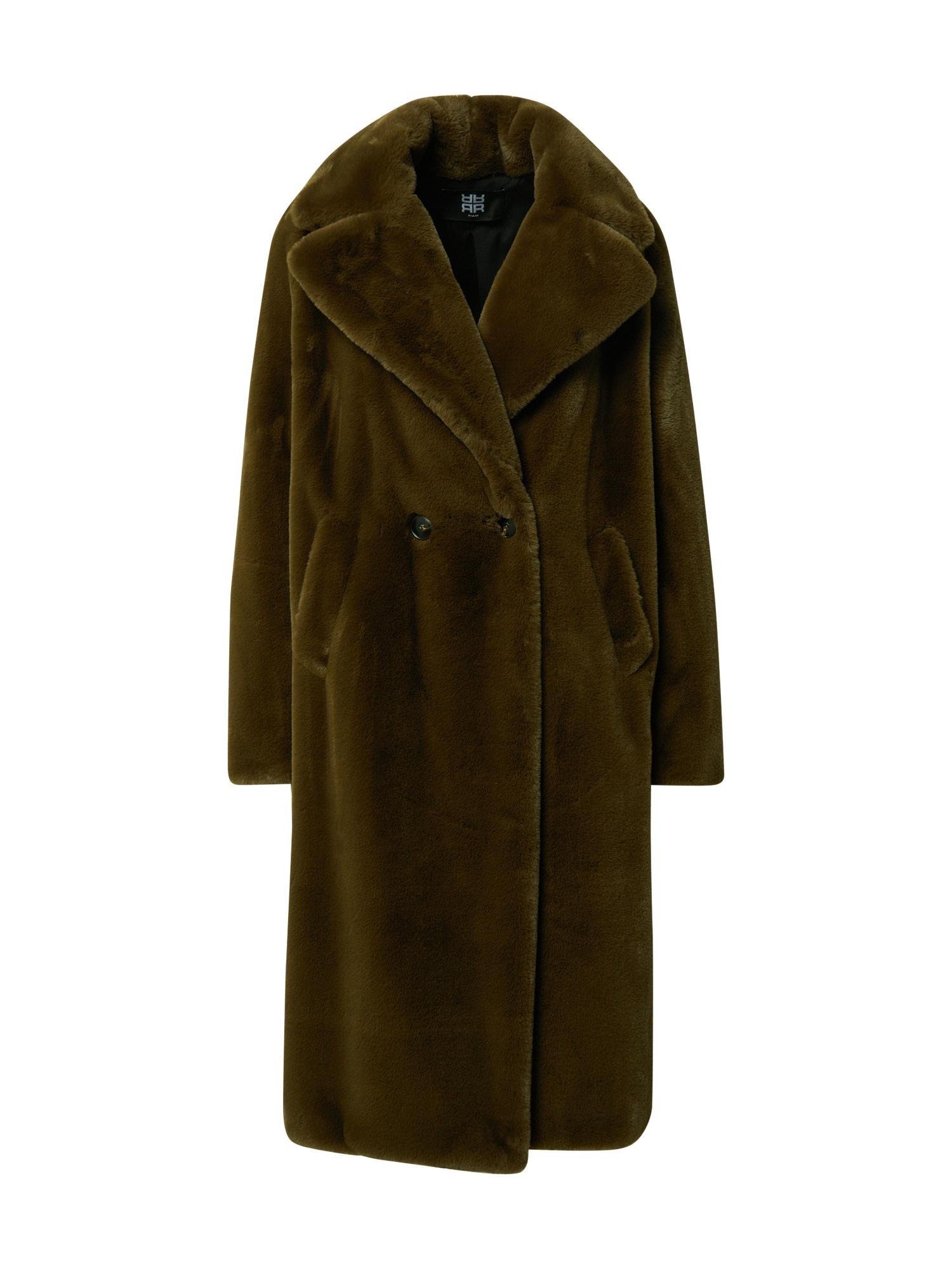 Riani Žieminis paltas rusvai žalia