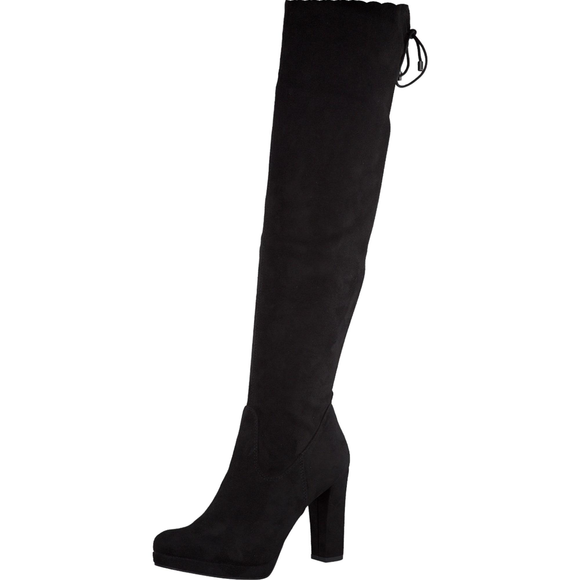 Damen TAMARIS Overknee Stiefel schwarz | 04055157804977