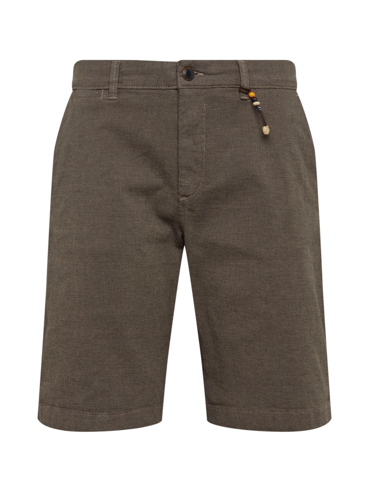Chino kalhoty Kenzo Akm 432 tmavě šedá JACK & JONES