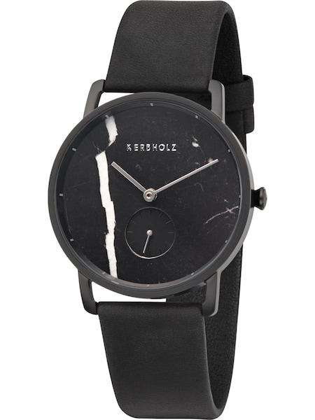 Uhren für Frauen - Kerbholz Kerbholz Uhr Frida Schwarzer Marmor Nacht WATMFRI4202 schwarz  - Onlineshop ABOUT YOU