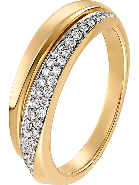 Ringe für Frauen - CHRIST Ring '60122377' gold  - Onlineshop ABOUT YOU