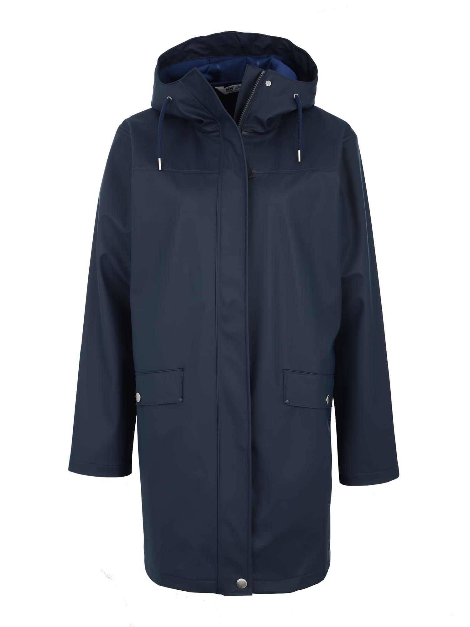 Outdoorový kabát Moss Rain tmavě modrá HELLY HANSEN