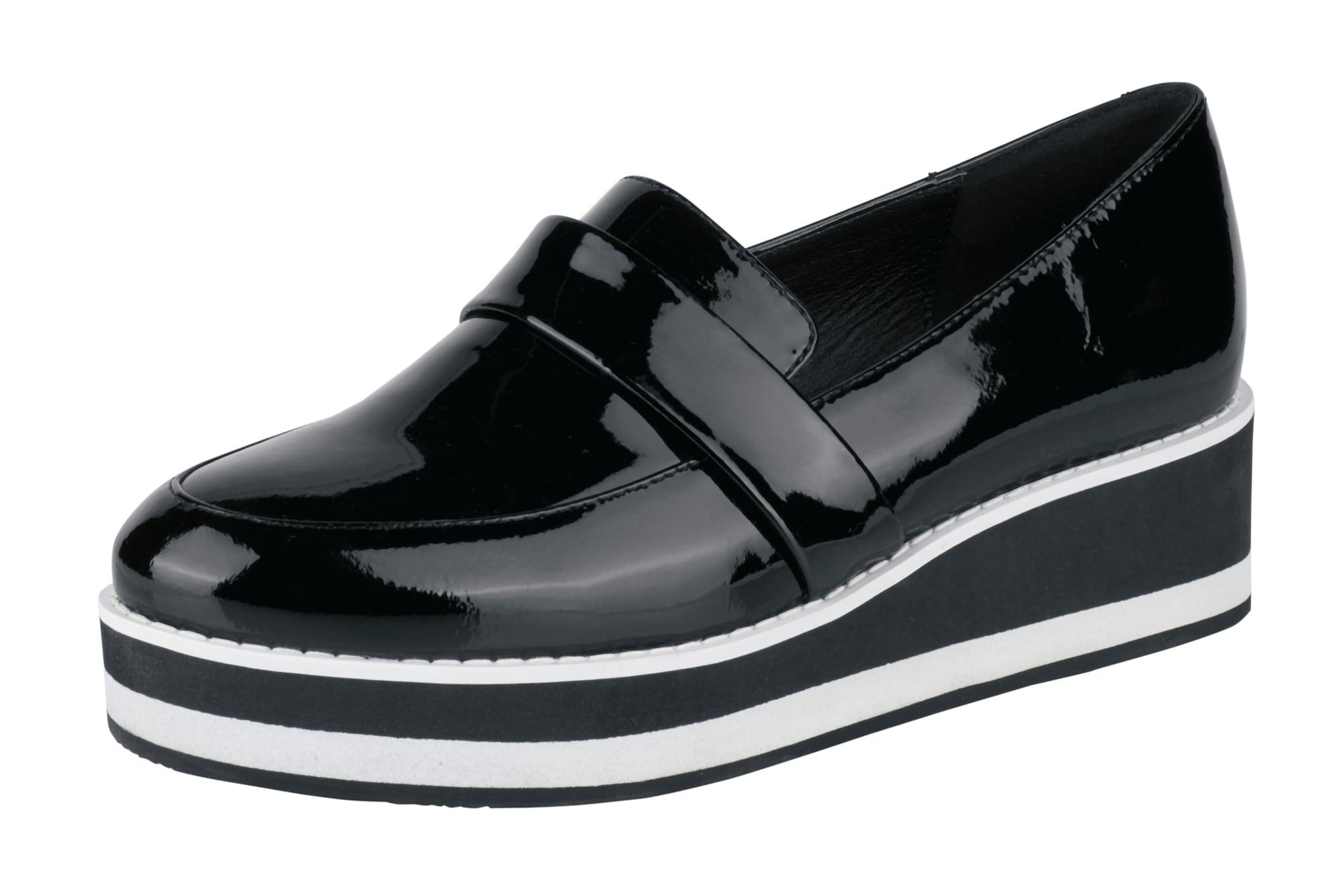 heine Papuče  čierna / biela
