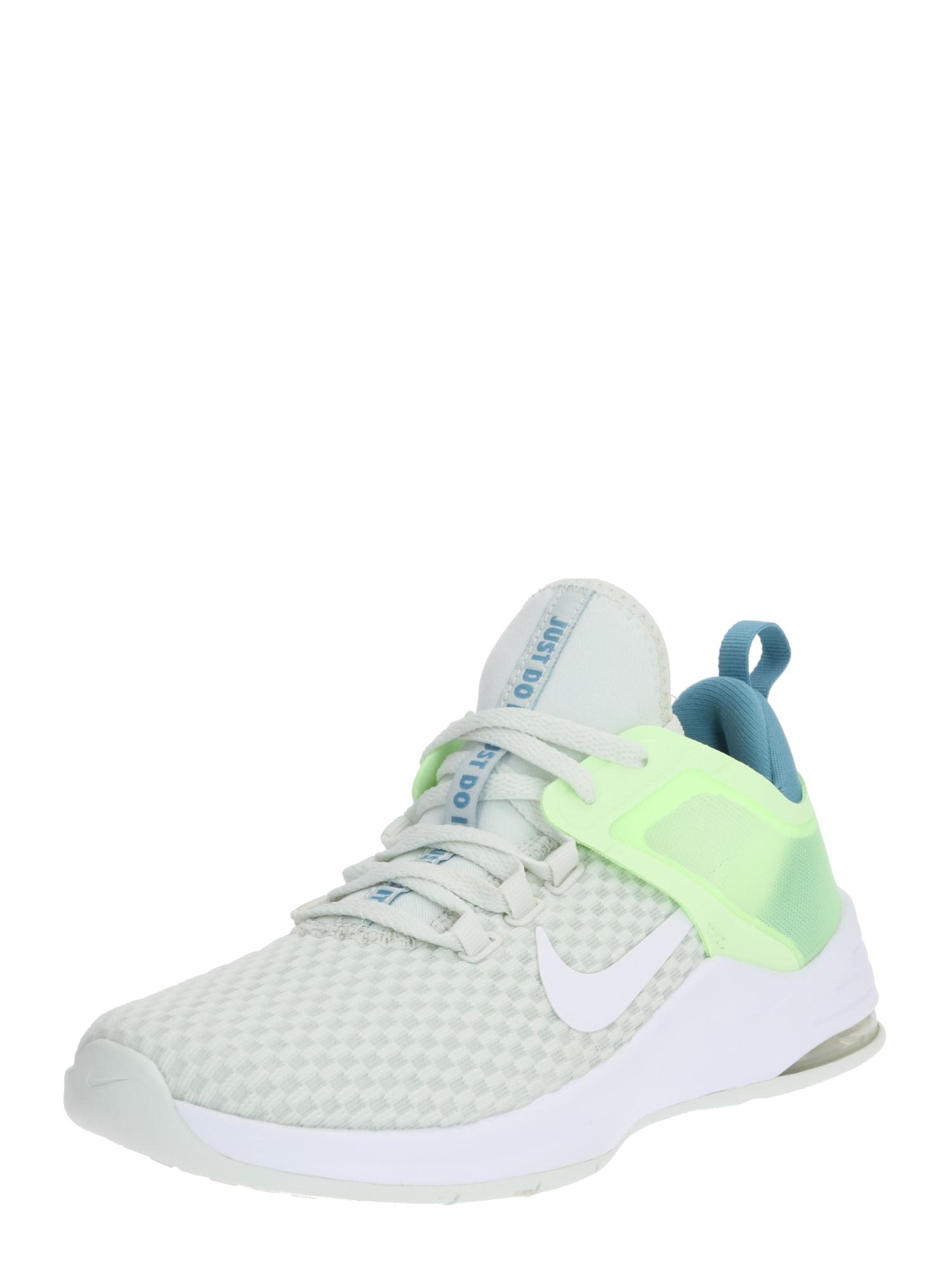 NIKE Sportiniai batai 'Max Bella TR 2' pastelinė žalia / balta / benzino spalva