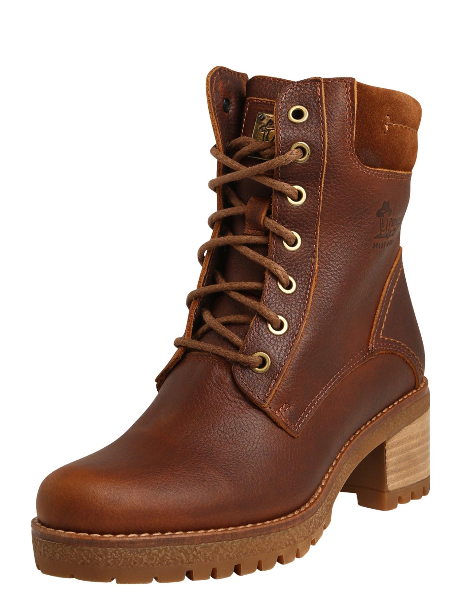 PANAMA JACK Suvarstomieji kulkšnis dengiantys batai šviesiai ruda / ruda