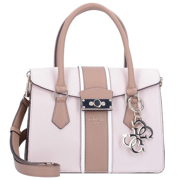 Handtaschen für Frauen - GUESS Handtasche 'La Hip' hellbraun rosa  - Onlineshop ABOUT YOU