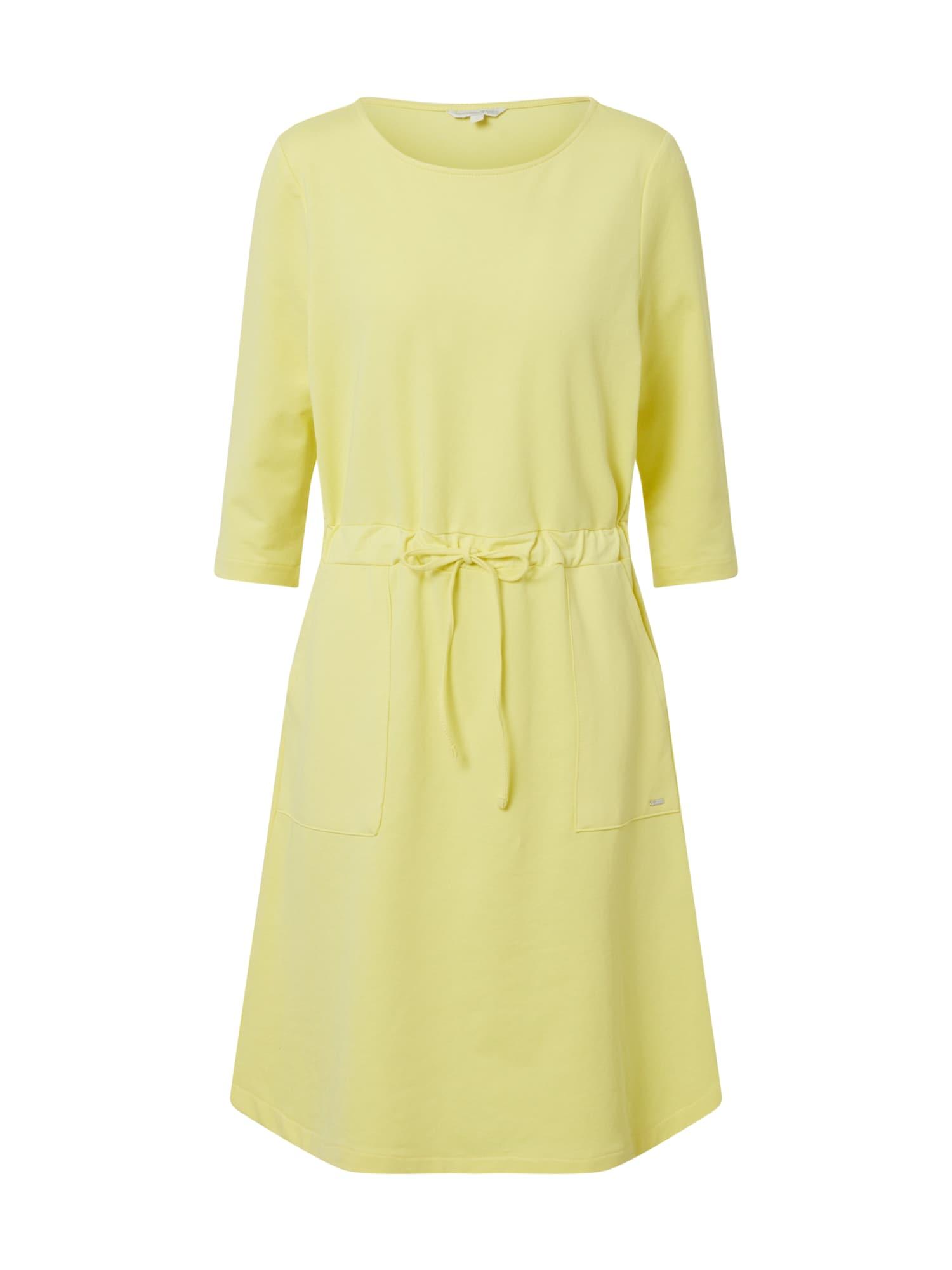 TOM TAILOR DENIM Suknelė geltona
