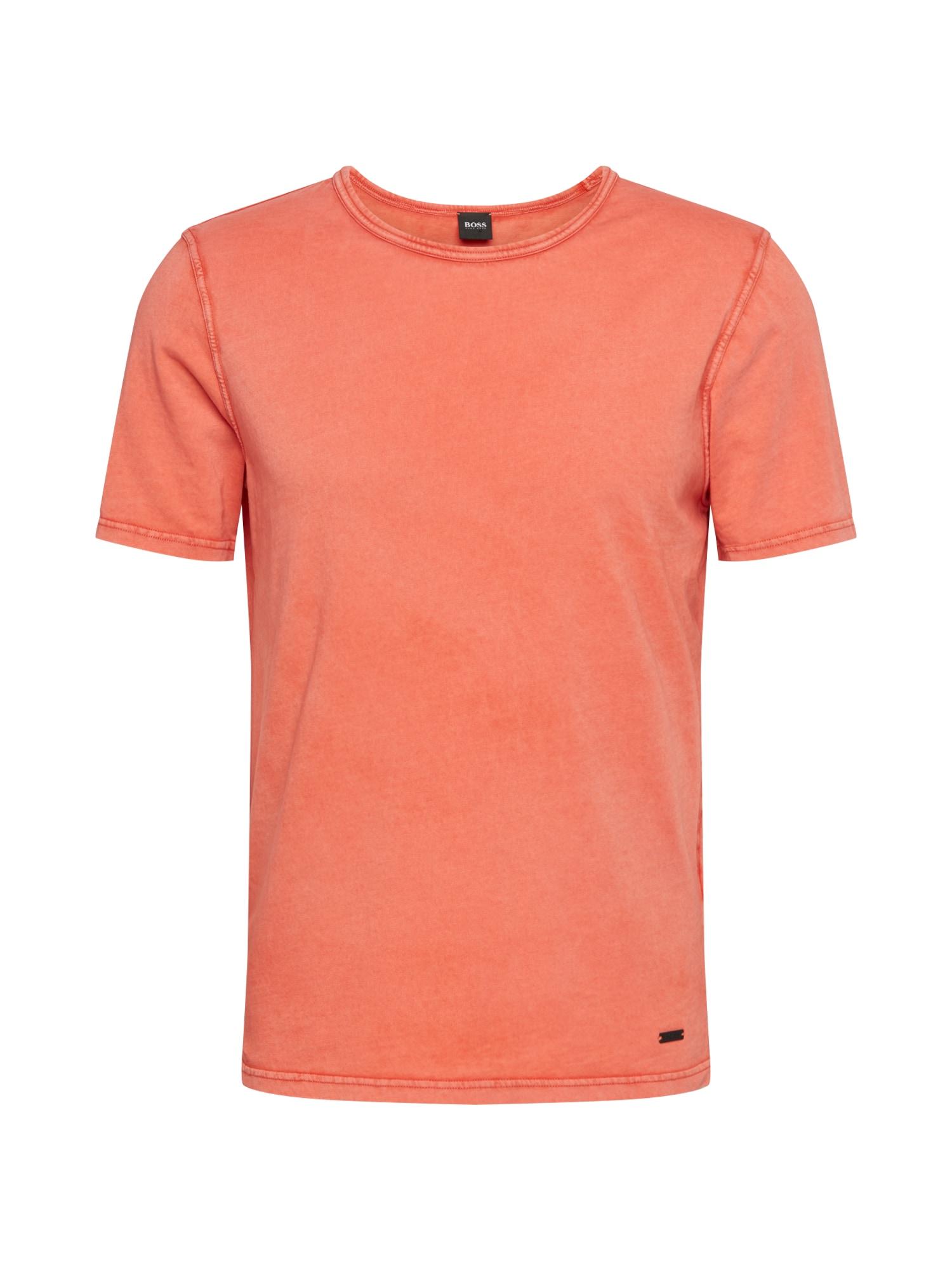 BOSS Marškinėliai 'Tokks' oranžinė