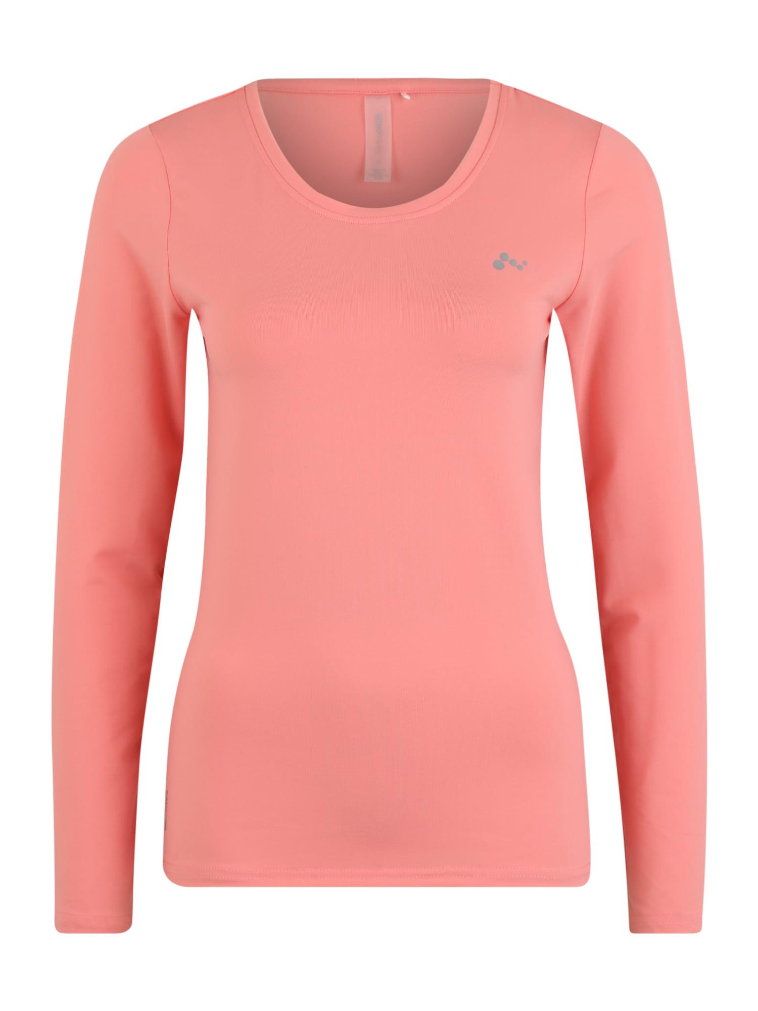 ONLY PLAY Sportiniai marškinėliai 'Clarissa' šviesiai rožinė
