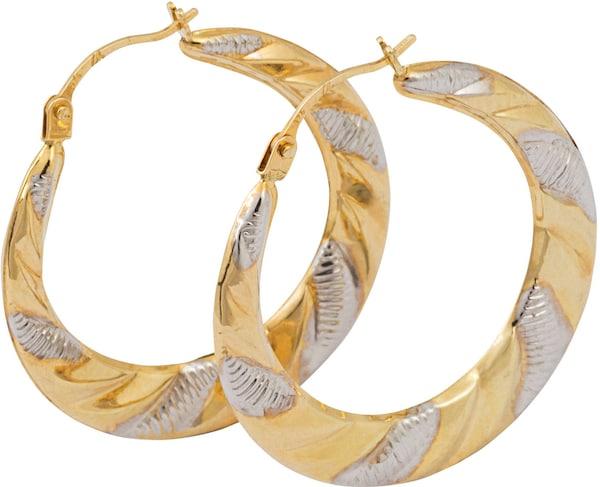 Ohrringe für Frauen - FIRETTI Creolen gold  - Onlineshop ABOUT YOU