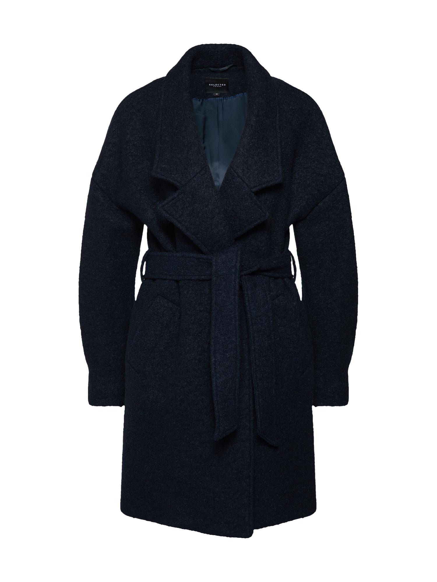 Přechodný kabát PAJA námořnická modř SELECTED FEMME