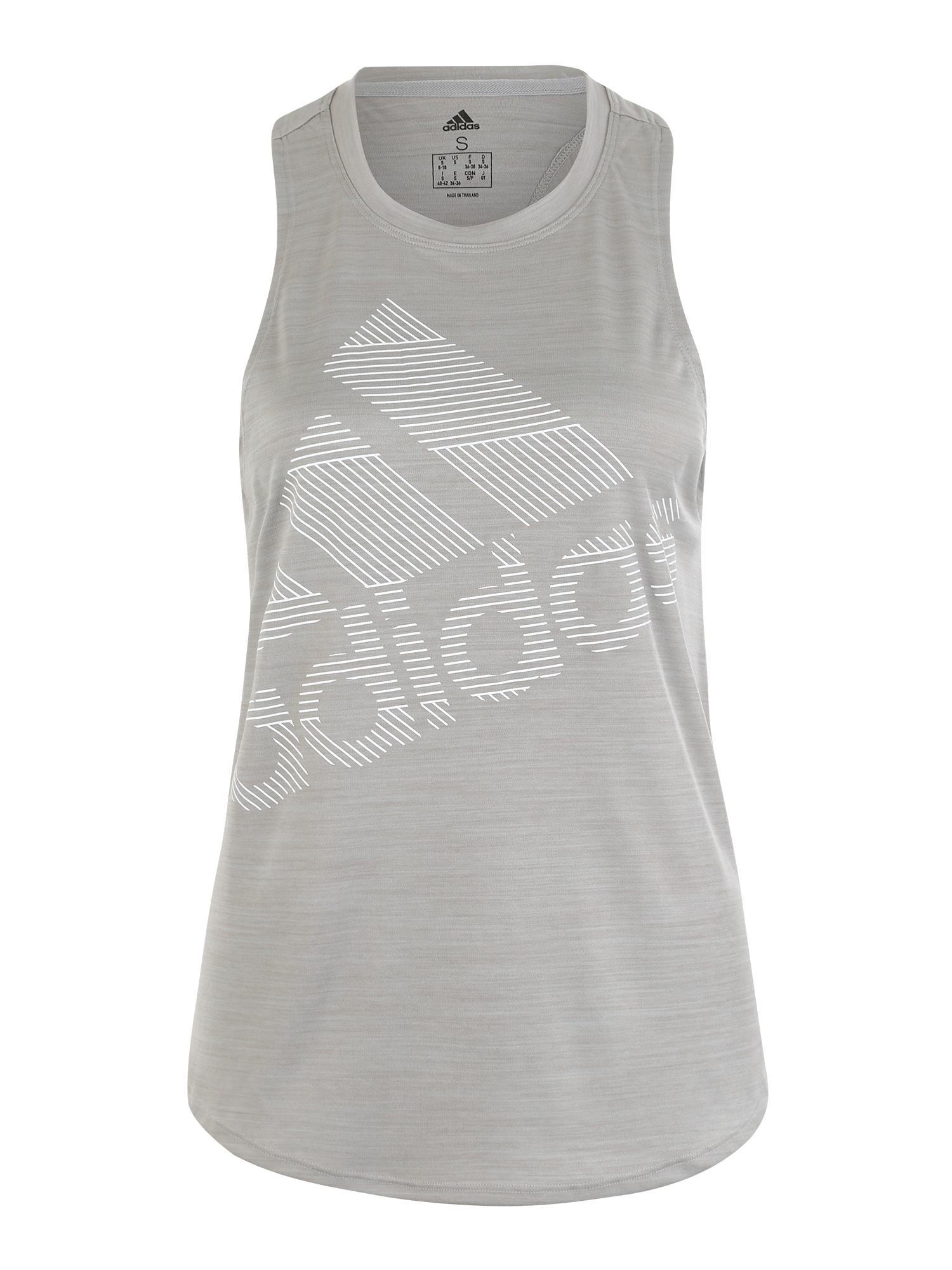 Funkční tričko šedá ADIDAS PERFORMANCE