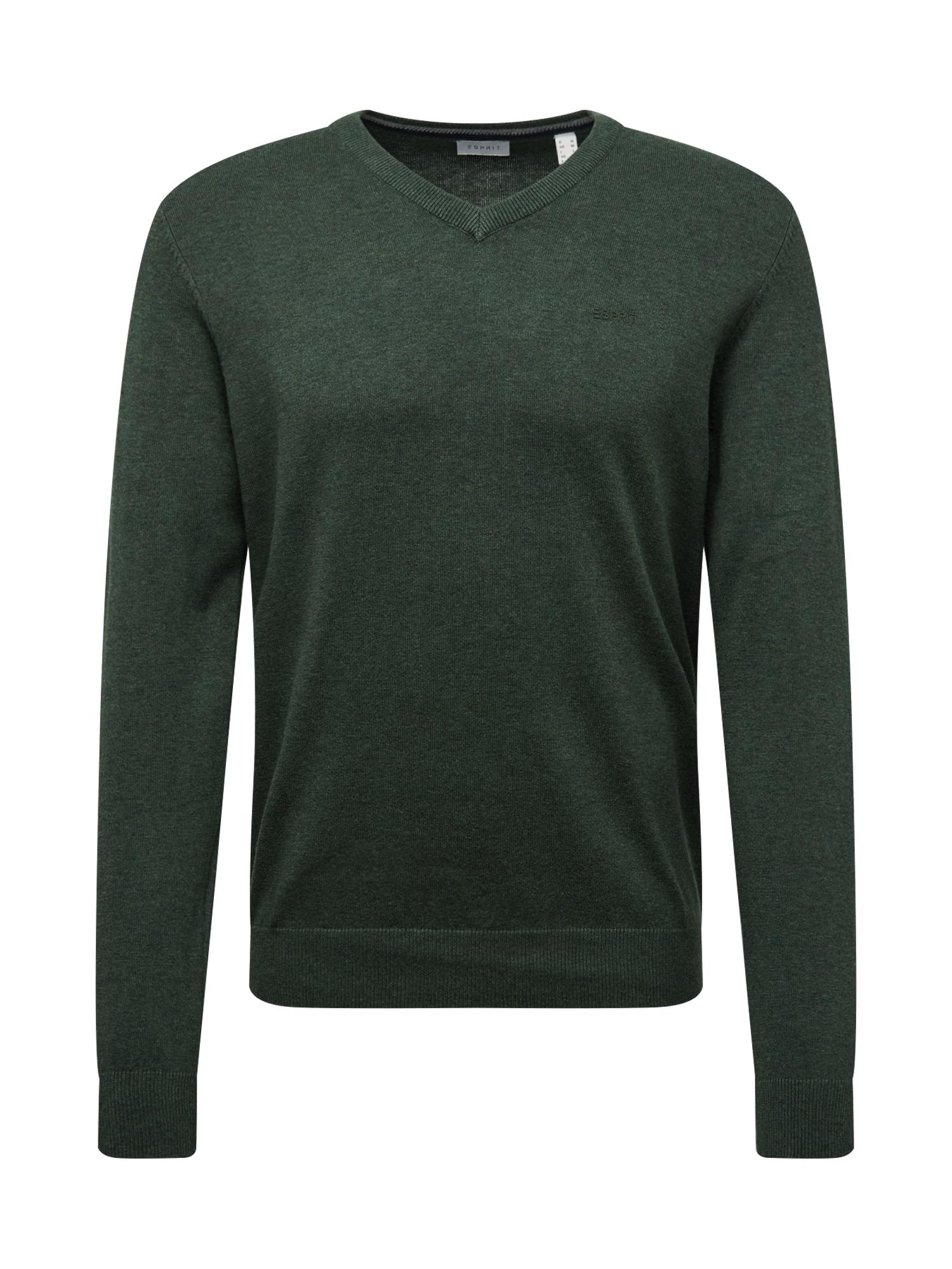 ESPRIT Megztinis žolės žalia