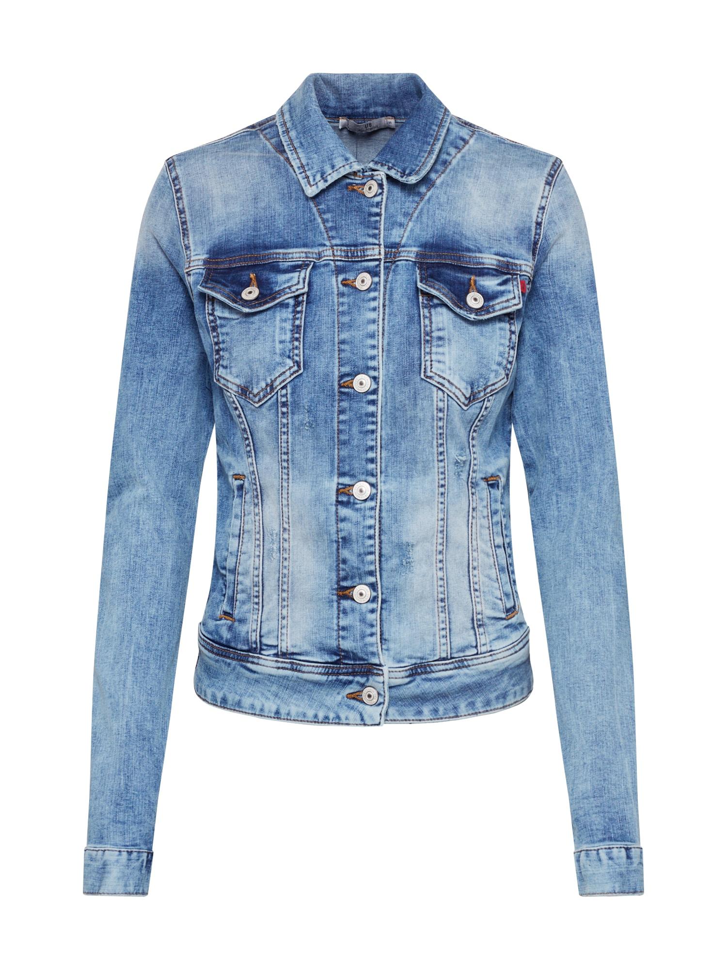 LTB Demisezoninė striukė 'Dean x Jacket' tamsiai (džinso) mėlyna