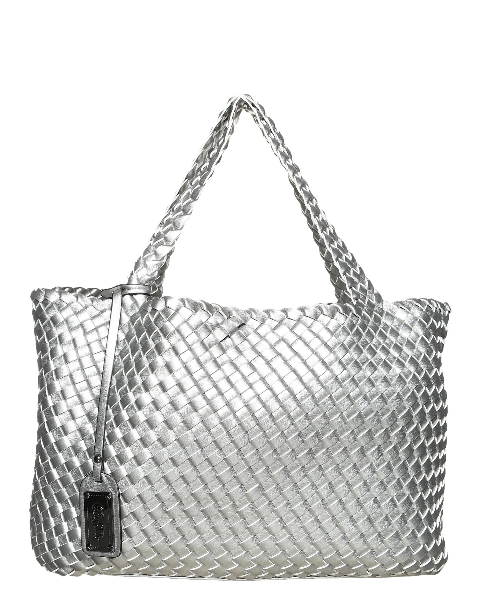 Nákupní taška stříbrná BUFFALO