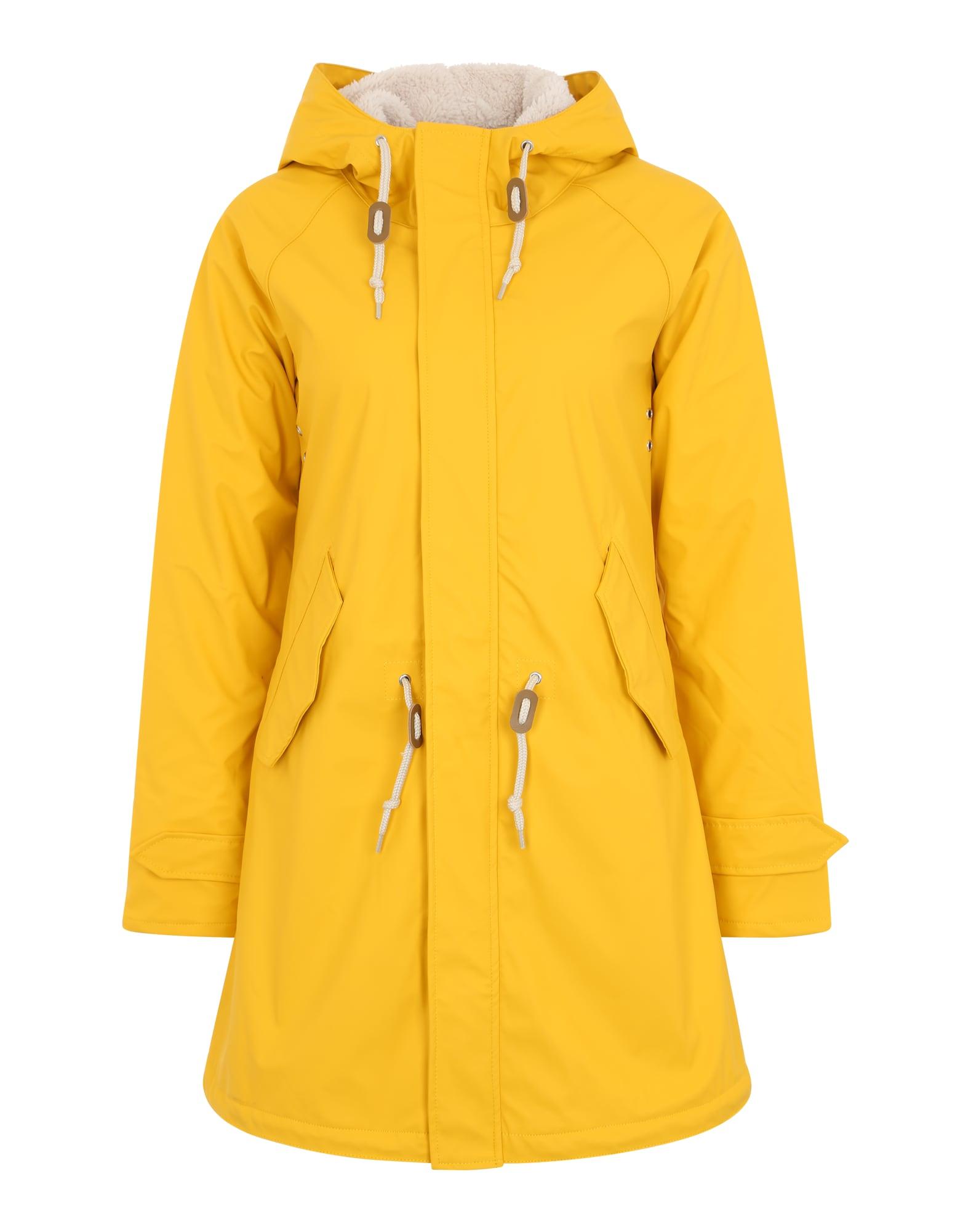 Přechodný kabát žlutá Derbe