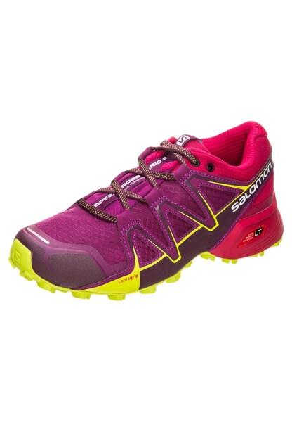 Sportschuhe für Frauen - SALOMON Laufschuh 'Speedcross Vario 2' gelb cyclam cranberry  - Onlineshop ABOUT YOU