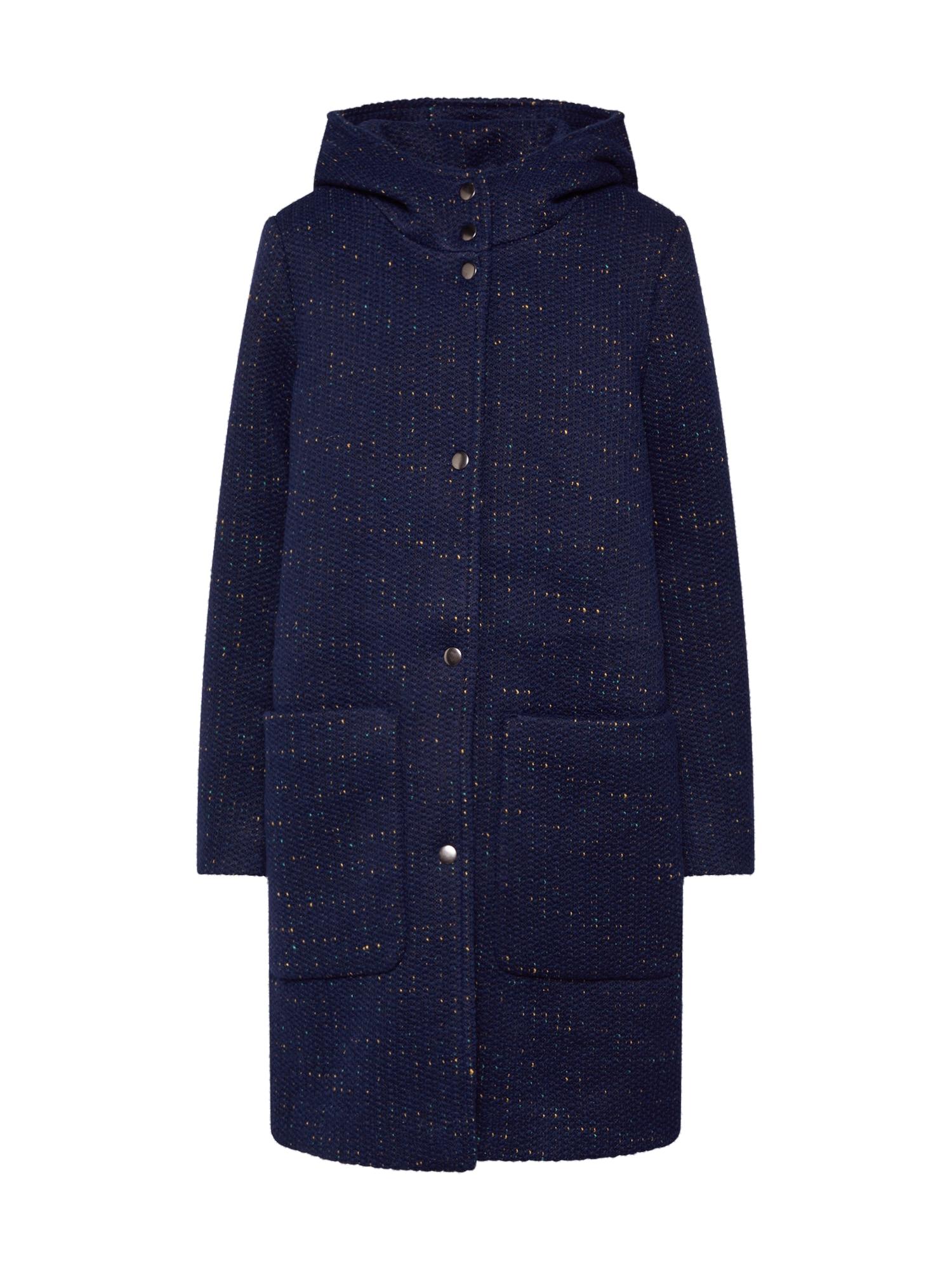 EDC BY ESPRIT Demisezoninis paltas tamsiai mėlyna