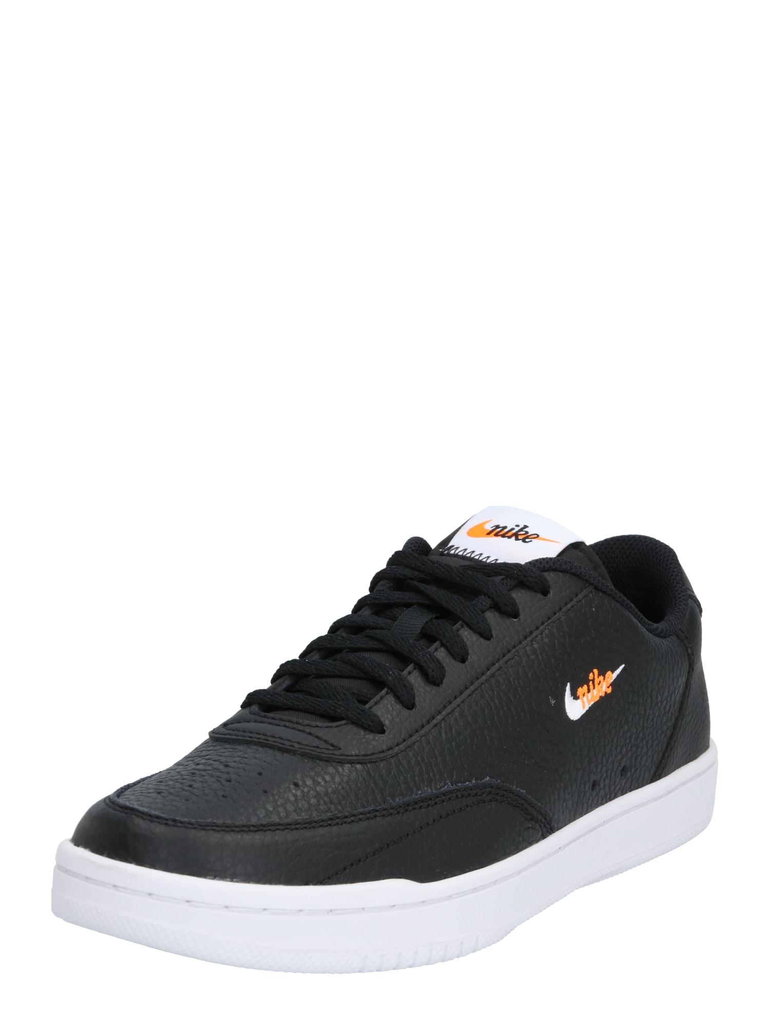 Nike Sportswear Nízke tenisky 'Court Vintage'  biela / čierna