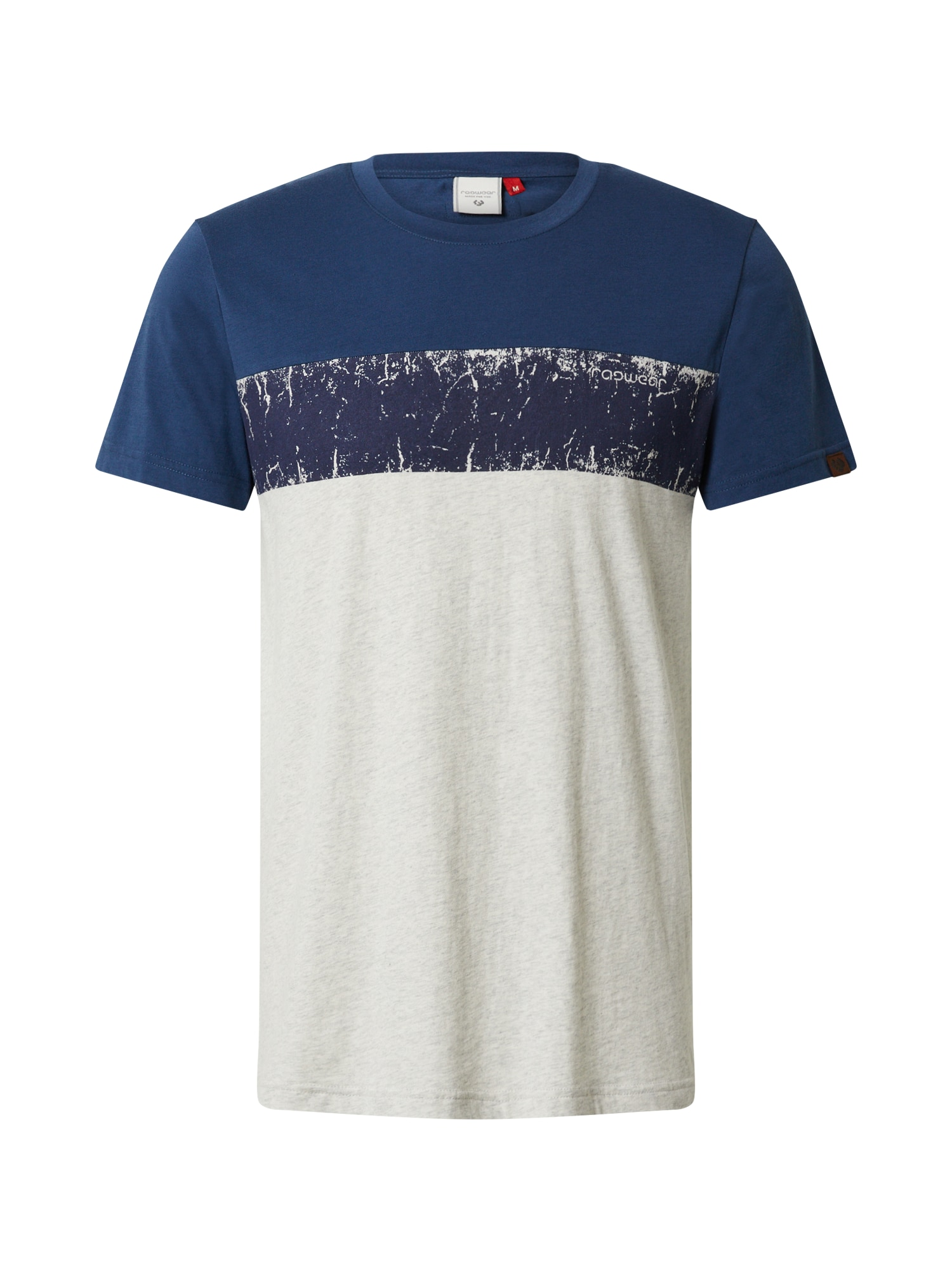 Ragwear Tricou 'BLANT'  albastru / gri
