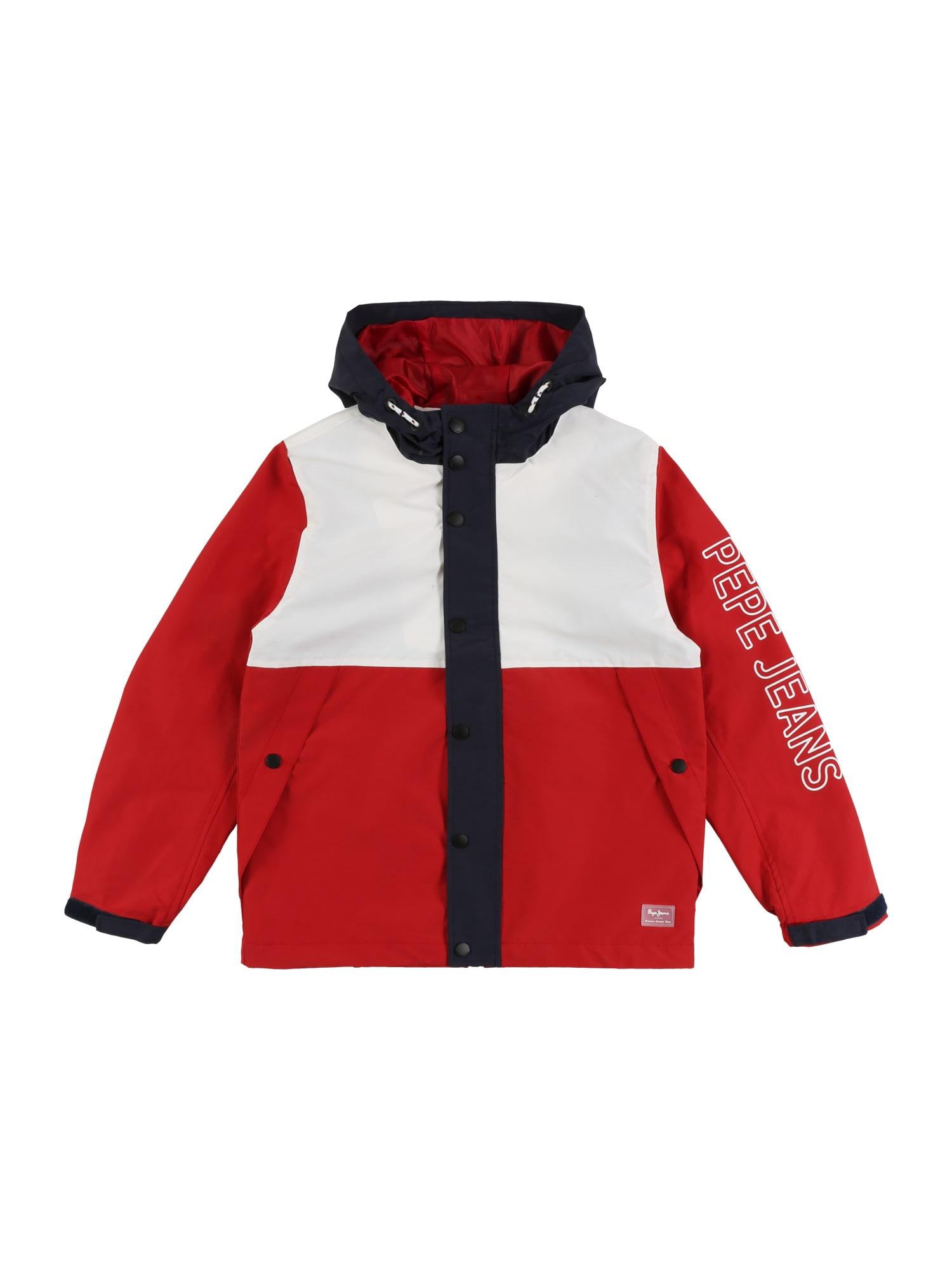 Pepe Jeans Prechodná bunda  červené